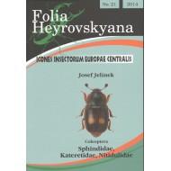Jelínek J., 2014: Sphindidae, Kateretidae, Nitidulidae (Coleoptera). 29 pp. Folia Heyrovskyana