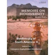 Pace R., 2015: Memoirs on Biodiversity - Biodiversity of South America. II, Coleoptera, Staphylinidae, Aleocharinae