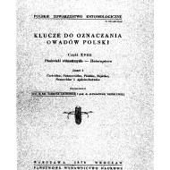 Jaczewski T., Wróblewski A., 1978:  Pluskwiaki róznoskrzydle - Heteroptera. Klucze do Oznaczania Owadow Polski