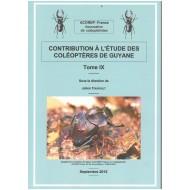 Touroult J., 2015: Contribution à l'étude des Coléoptères de Guyane, Tome IX