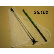 25.112 - Special hunting set - TROPIC (handle 1.5 m, frame Ø 40 cm)