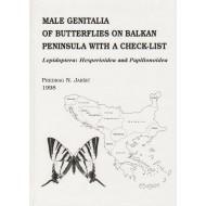 Jakšič P. N., 1998: Male genitalia of butterflies on Balkan peninsula with a check-list. 115 plates, 152 pp.