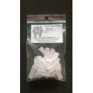 """27.9641 - Étiquettes autocollantes """"BRISTOL"""" - 38x10"""
