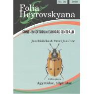 Růžička J., Jakubec P., 2016: Coleoptera: Agyrtidae, Silphidae. 17 pp. Folia Heyrovskyana 26