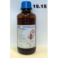 19.15 - Chloroform v zásobní skleněné láhvi 1 litr
