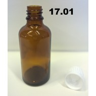 17.01 - Empty dripping glass bottle for chemicals 50 ml