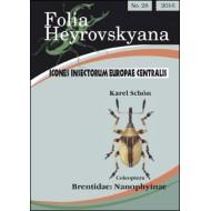 Schon K., 2016: Brentidae: Nanophyinae. 20 pp. Folia Heyrovskyana 27