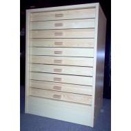 06.80B - Kabinet 10, spodní díl (40x50), natural pine