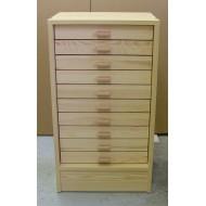 06.90B - Kabinet 10, spodní díl (30x40), natural pine