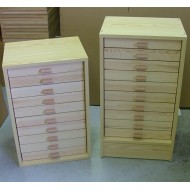 06.911 - Kabinet 10, horní díl (30x40), natural pine