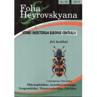KOLIBÁČ J., 2018:  33 PP. FOLIA HEYROVSKYANA