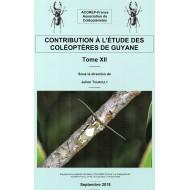 TOUROULT J., 2018: CONTRIBUTION À L'ÉTUDE DES COLÉOPTÈRES DE GUYANE, TOME XII