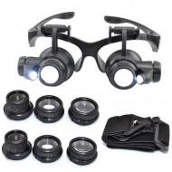 32.71 - Brýlová lupa s osvětlením (s vyměnitelnými okuláry)