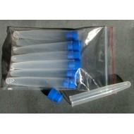 Zkumavky plastové průměr 14/15x90 mm