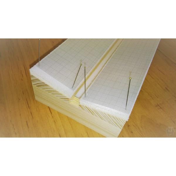 07 29 transparent pergemine graph paper - 1mm grid
