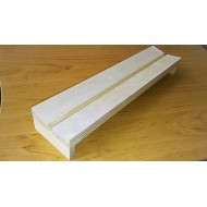 07.63 - Setting boards (balsa) - span 8 cm, length 35 cm, groove 8 mm