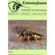 Smit J., 2018: Entomofauna, Zeitschrift für Entomologie, Monographie 3