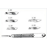 Scalpels - blade no. 21