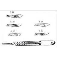 Scalpels - blade no. 22
