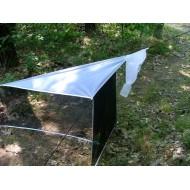Malayseho past ( bílá ) - výška 120 cm, šířka 100 cm, délka 150 cm