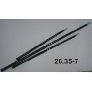 Hůl k rámům smýkacích sítí - 2D/60cm/100cm