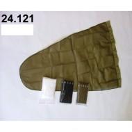 24.121 - Prodloužený pytel - průměr 35 cm - bílý, hloubka pytle - 77 cm