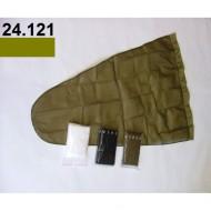 24.121 - Prodloužený pytel - průměr 35 cm - khaki, hloubka pytle - 77 cm