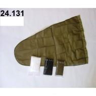 24.131 - Prodloužený pytel - průměr 40 cm - bílý, hloubka pytle - 88 cm