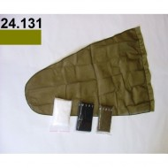 24.131 - Net bag diameter 40 cm, length - 88 cm - khaki
