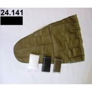 24.141 - Prodloužený pytel - průměr 50 cm - černý, hloubka pytle - 120 cm