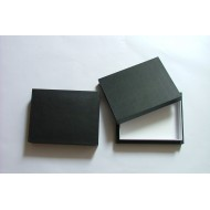 05.12 - Boxes with full lid 15x18x5,4 cm - black