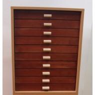 06.91 - Cabinet 10, partie haute (30x40), aulne naturel