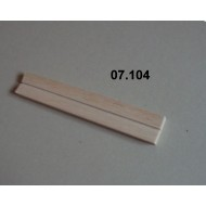 07.104 - Setting boards micro - span 33 mm, length 200 mm, groove 2 mm