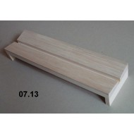 07.13 - Setting boards - span 8 cm, length 30 cm, groove 8 mm
