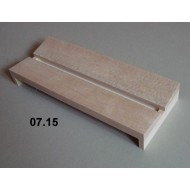 07.15 - Setting boards - span 12 cm, length 30 cm, groove 12 mm
