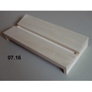 07.16 - Setting boards - span 14 cm, length 30 cm, groove 14 mm