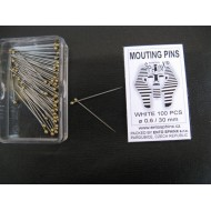 Special label pins - packing of 100 pieces