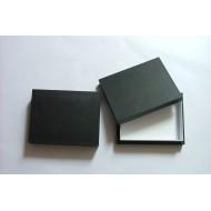 05.58 - Entomologická krabice 40x50x5,4 cm - bez výplně dna pro UNIT SYSTÉM - KLASIK, plné víko - černá