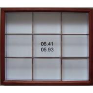 """06.41 - Typ """"PROFESIONAL"""" bez výplně dna pro UNIT SYSTÉM - PLAST - olše mořená"""