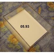 05.93 - Plastic Unit trays - 1/9 size (11,8 x 9,6 x 4,5 cm)