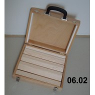 Portable suitcase for balsa spreaders 27x33x9 cm