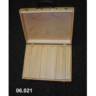 Portable suitcase for balsa spreaders 33x43x9 cm