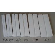 Preparační podložka rovná - šířka 8 cm, délka 30 cm, škvíra 8 mm
