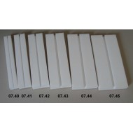 Setting boards - span 8 cm, length 30 cm, groove 8 mm