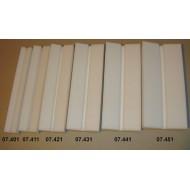 Preparační podložka šikmá - šířka 6 cm, délka 30 cm, škvíra 6 mm