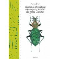 Pierre Meyer Distribution géographique des sous-genres actualisés du genre Carabus