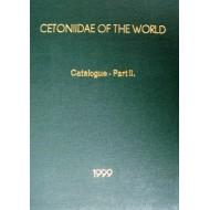Krajcik M.,1999. CETONIIDAE OF THE WORLD Catalogue - Part II.