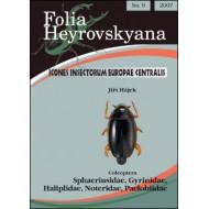 Hájek J., 2007: Sphaeriusidae, Gyrinidae, Haliplidae, Noteridae, Paelobiidae.