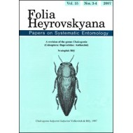 Bílý S., 2008: Revision of the genus Chalcogenia (Coleoptera: Buprestidae: Anthaxiini).