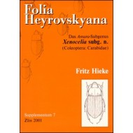 Hieke F., 2001: Das Amara-Subgenus Xenocelia subg. n. (Coleoptera: Carabidae). 153 pp. (in German). Folia Heyrovskyana Suppl. 7